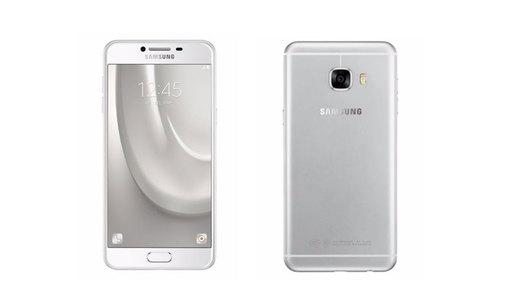 Samsung Galaxy C7 Dual Sim (4G - 32GB) Silver Taiwan