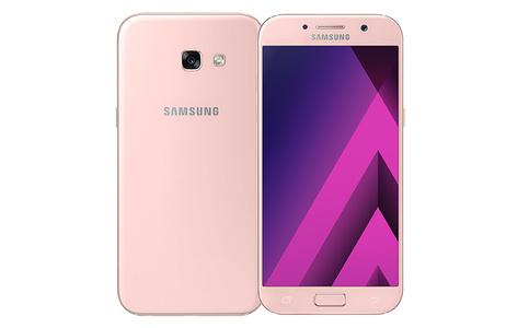 Samsung Galaxy A5 (2017) A520 Dual Sim (4G  32GB  Peach Cloud) With Official Warranty