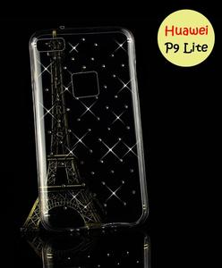 Huawei P9 Lite Cover - Transparent Fancy Cover