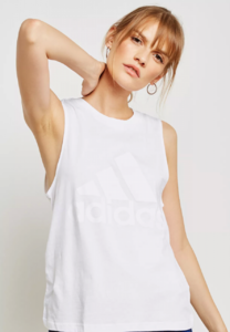 Adidas Essential Solid Tank (White)