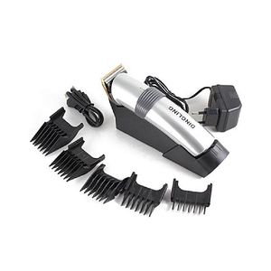DINGLING Electro Plating Hair Clipper For Men RF-609 (Silver)