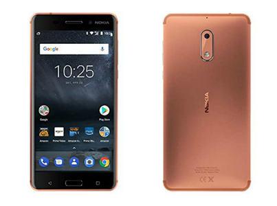 Nokia 6 (4G  64GB  Copper)