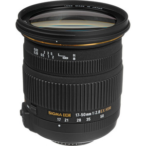 Sigma 17-50mm f/2.8 EX DC OS HSM Zoom Lens for Nikon DSLRs with APS-C Sensors