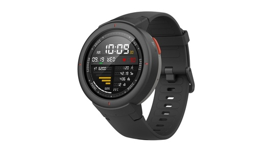 AMAZFIT Verge Smart Watch Black (1 Year Official Warranty)