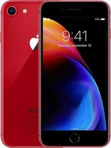 Apple iPhone 8 (4G  64GB  Red) Without Facetime 1 Year Official Warranty
