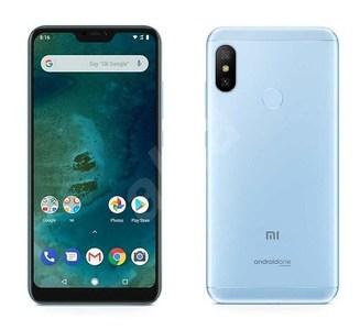 Xiaomi A2 Lite Dual Sim (4G  3GB RAM  32GB ROM  Blue) 1 Year Warranty