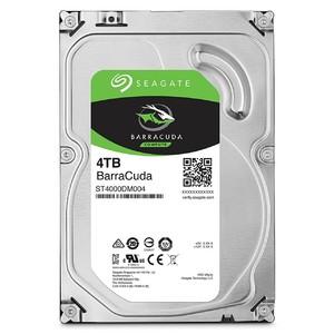 Seagate 4TB BarraCuda SATA 6Gb/s 256MB Cache 3.5-Inch Internal Hard Drive (ST4000DM004)