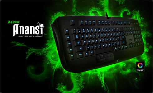 Razer Gaming Keyboard Anansi