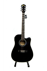 Tagima Italian 41 Semi Acoustic Guitar (Black)