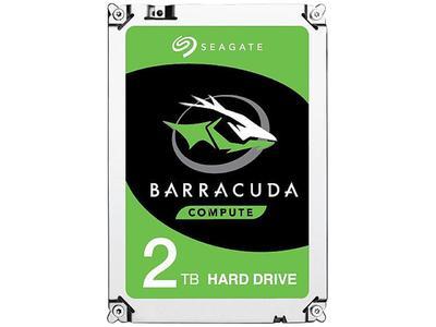 Seagate BarraCuda ST2000DM006 2TB 7200 RPM 64MB Cache SATA 6.0Gb/s 3.5 Hard Drive Bare Drive (2 Years Warranty)