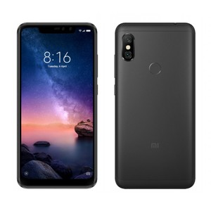 Xiaomi Redmi Note 6 Pro Dual Sim (4G LTE  4GB RAM  64GB  Black) 1 Year Official Warranty