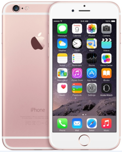Apple iPhone 6S (128GB  Rose GOLD)