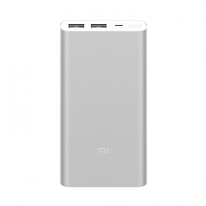 Xiaomi New 10000mAh Power Bank 2 Dual USB 18W Quick Charge 3.0 – Silver