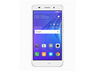 Huawei Y3 (2017) Dual Sim (3G  8GB  White) 1 Year Official Warranty