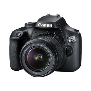 Canon EOS 3000D DSLR Camera with 18-55mm Lens (MBM WARRANTY)