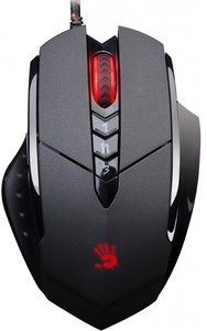A4Tech V7M (Multicore Metal Feet) Bloody Gaming Mouse  Metal Feet Multicore Gaming Mouse  Zero-Shot Delay  3 Modes Of Left Key 8 Buttons  Resolution:3200dpi Image:368mega Pixels/Sec  Tracking Speed:74 Inches/Sec