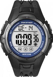 Timex T5K359M6 Marathon Watch With Black Resin Band