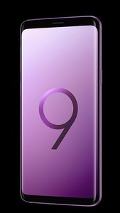 Samsung Galaxy S9+ Dual Sim (4G  6GB RAM  64GB ROM) Lilac Purple 1 Year Official Warranty