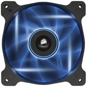Corsair Air Series AF120 LED Quiet Edition High Airflow Fan Single Pack - Blue (CO-9050015-BLED)