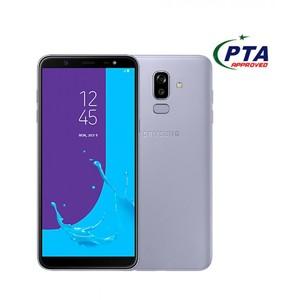 Samsung Galaxy J8 J810FD Dual Sim (4G  4GB RAM  64GB ROM  Lavender) 1 Year Official Warranty