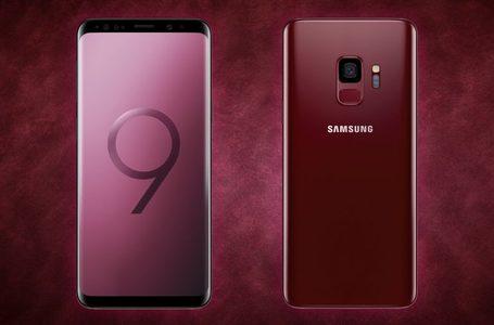 Samsung Galaxy S9 G960FD Dual Sim (4G  4GB RAM  64GB ROM  Burgundy Red Edition)