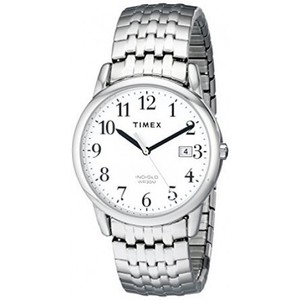 Timex T2P294 Easy Reader Dress Stainless Steel Expansion Band Watch