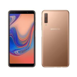 Samsung Galaxy A7 2018 A750FD (4G  4GB RAM  128GB  Gold) 1 Year Official Warranty