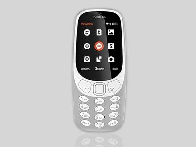 Nokia 3310 (2017) Grey (Official Warranty)