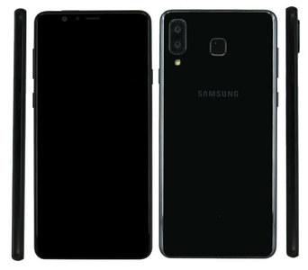 Samsung Galaxy A9 Lite Dual Sim (4G  4GB RAM  64GB ROM  Black)