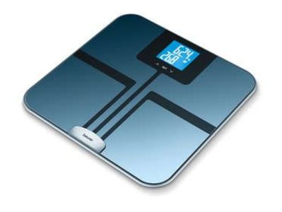 Beurer BF-750 Body Fat Monitor diagnostic bathroom scales