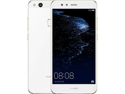 Huawei P10 Lite Dual Sim (4G  32GB  Pearl White) With Official Warranty