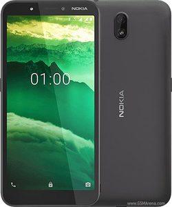 Nokia C1 Dual Sim (3G  1GB  16GB  Black) With Official Warranty