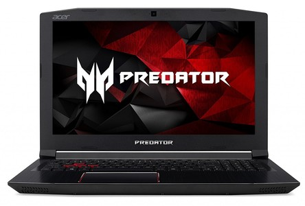 Acer Predator Helios 300 Gaming Laptop  15.6 Full HD  Intel Core i7-7700HQ CPU  16GB DDR4 RAM  256GB SSD  GeForce GTX 1060-6GB  VR Ready  Red Backlit KB  Metal Chassis  G3-571-77QK