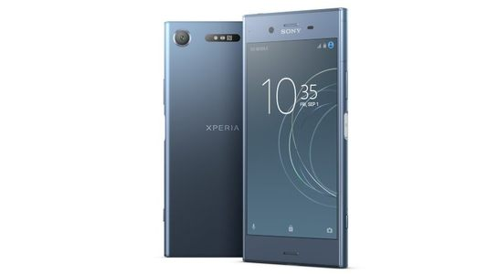 Sony Xperia XZ1 Dual Sim (4GB RAM  64GB ROM  Moonlight Blue) Finger Print