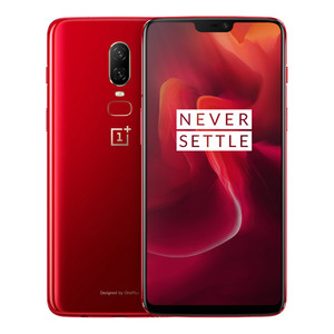 OnePlus 6 Dual Sim - 128GB  8GB RAM  4G LTE  Red Edition