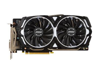 MSI GeForce Graphic Card GTX 1060 ARMOR 6G OCV1