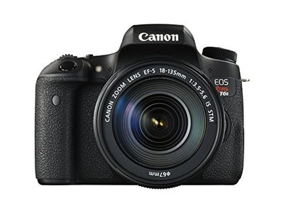 Canon EOS 760D Digital SLR with EFS 18135mm IS STM Lens