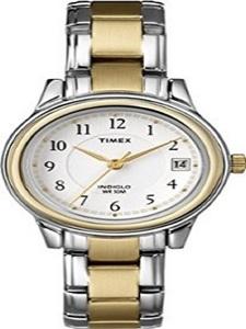 Timex Womens T25771 Fashion Two-Tone Bracelet Watch