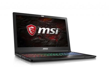 MSI GS63VR Stealth Pro 4K-228 15.6 4K Display Thin and Light Gaming Laptop Core i7-7700HQ GTX 1060 16GB 512GB + 2TB VR Ready