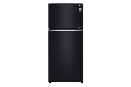 LG GN-C732SGGU No Frost Glass Door Refrigerator (Black)