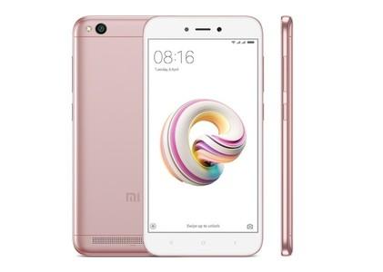 Xiaomi Redmi 5A HD Dual Sim (4G  2GB RAM  16GB  Rose Gold) 1 Year Official Warranty