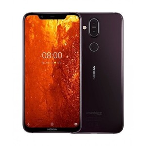 Nokia 8.1 Dual Sim (4G  4GB RAM  64GB ROM  Iron) 1 Year Official Warranty
