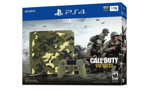 Playstation 4 Call of Duty WWII 1TB