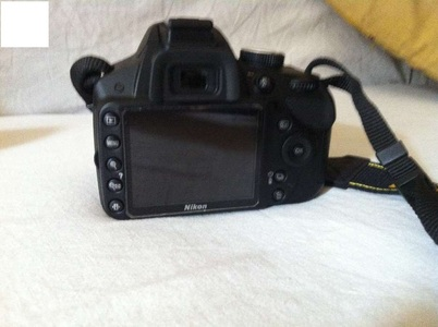 Used Nikon D3200 Dslr Camera Body Only (8GB Card & Bag)