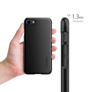 Spigen iPhone 8 / 7 Case Thin Fit Black