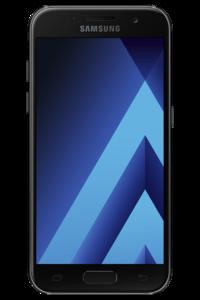 Samsung Galaxy A3 (2017) A320F (4G  16GB  Sky Black) Official Warranty