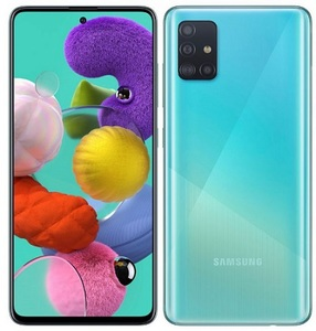 Samsung Galaxy A51 Dual Sim (4G  6GB  128GB  Prism Crush Blue) - NON PTA