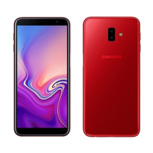 Samsung Galaxy J6+ J610 Dual Sim (4G  3GB RAM  32GB ROM  Red) 1 Year Official Warranty