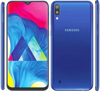 Samsung Galaxy M10 Dual Sim (4G  3GB RAM  32GB ROM  Blue)