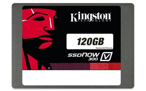 Kingston SSDNow V300 Series SV300S37A/120G 2.5 120GB Solid State Drive (5 Yrs. Kingston Warranty)